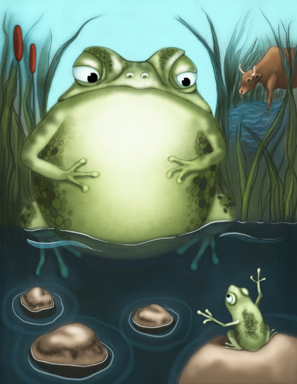 The Frog & The Ox